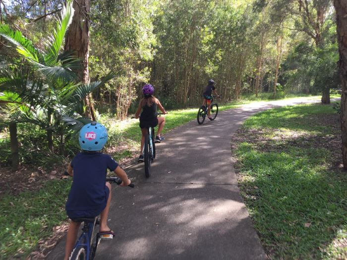 Cycling on the Sunshine Coast